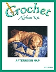 Afternoon Nap Crochet Afghan Kit