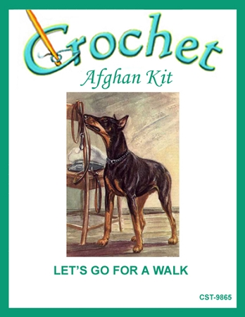 Let S Go For A Walk Crochet Afghan Kit