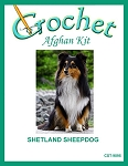 Shetland Sheepdog Crochet Afghan Kit