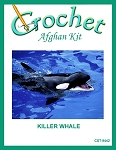 Killer Whale Crochet Afghan Kit