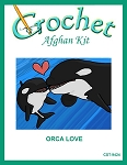 Orca Love Crochet Afghan Kit