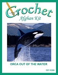 Orca Out Of The Water Crochet Afghan Kit