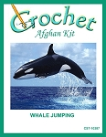 Whale Jumping Crochet Afghan Kit