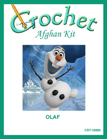 Olaf Crochet Afghan Kit
