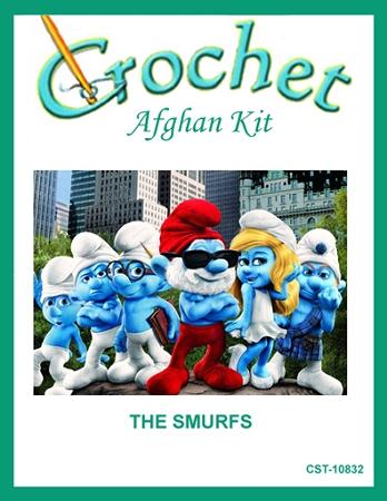 The Smurfs Crochet Afghan Kit