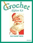 Old Saint Nick Crochet Afghan Kit