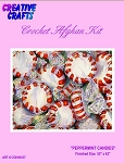 Peppermint Candies Crochet Afghan Kit
