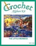 The Little Mermaid Crochet Afghan Kit