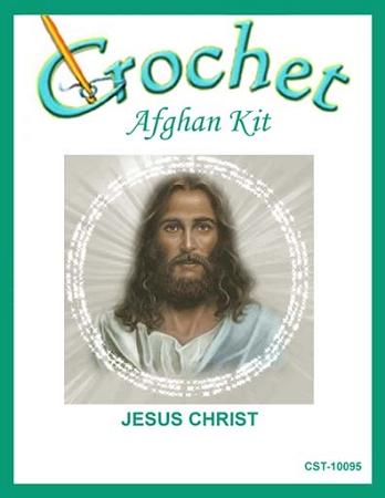 Jesus Christ Crochet Afghan Kit