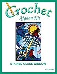 Stained Glass Window Crochet Afghan Kit