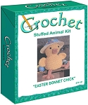 Easter Bonnet Chick Stuffed Animal Crochet Kit