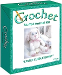 Easter Cuddle Bunny Stuffed Animal Crochet Kit