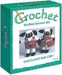 Zack & Daisy Mae Cow Stuffed Animal Crochet Kit