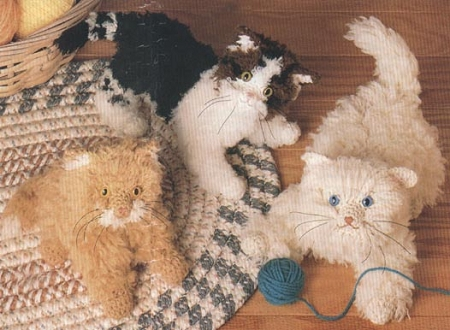 The Three Kittens Crochet Pattern