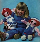 Raggady Ann & Andy Crochet Dolls Pattern