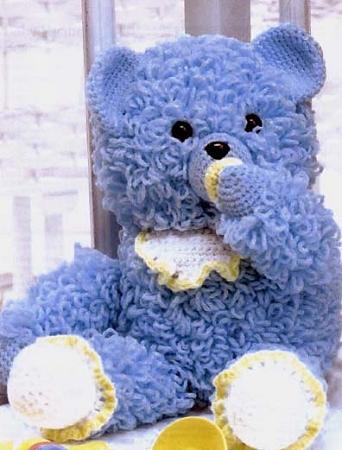 Crystal Panda: Graduation Teddy Amigurumi