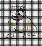 Friendly Bulldog Crochet Pattern