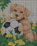 Puppy Play Crochet Pattern