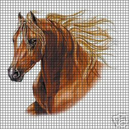 FILET CROCHET PATTERNS FOR HORSES - Crochet — Learn How