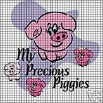 My Precious Piggies Crochet Pattern
