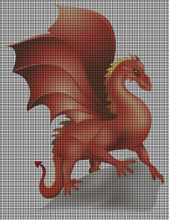 Beautiful Dragon Crochet Pattern