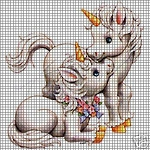 Baby Unicorns Crochet Pattern