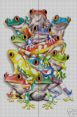 roman sock: Tutorial: Tree frog - TypePad