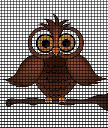 Wise Old Owl Crochet Pattern