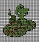 Rattle Snake Crochet Pattern