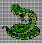 Snake Attack Crochet Pattern