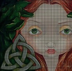 Celtic Girl Crochet Pattern