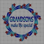 Grandsons Make Life Special Crochet Pattern