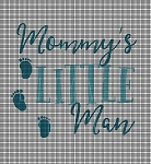 Mommy's Little Man Crochet Pattern