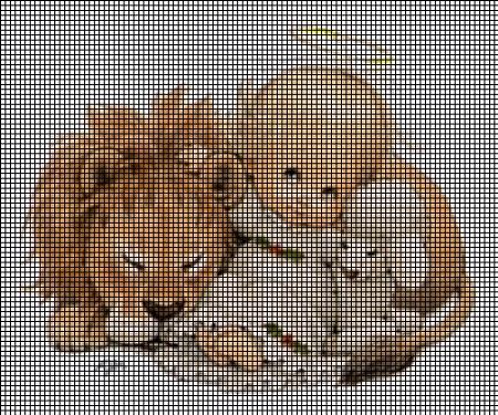Baby Angel Lion And Lamb Crochet Pattern