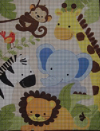 Crochet Patterns Jungle Animals : Baby Jungle Animals Crochet Pattern