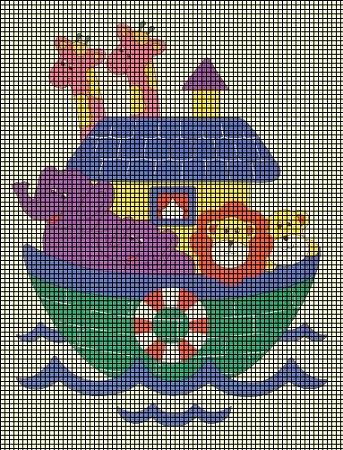 Baby Noahs Ark Crochet Pattern