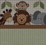 Baby Zoo Animals Crochet Pattern