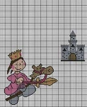 Brave Knight Girl Crochet Pattern
