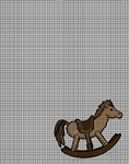 Brown Rocking Horse Crochet Pattern