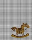 Gold Rocking Horse Crochet Pattern