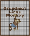 Grandma's Little Monkey Boy Crochet Pattern