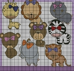 Little Zoo Animals Crochet Pattern