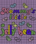 Mommy's Little Jelly Bean Crochet Pattern