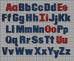 Upper & Lower Case Letters Crochet Pattern