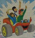 Speed Buggy & Friends Crochet Pattern