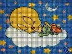 Baby Tweety Clouds Crochet Pattern