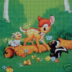 Bambi Amp Thumper Crochet Pattern