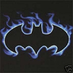 Batman Blue Flames Crochet Pattern