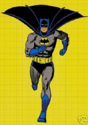 Batman Full Figure Crochet Pattern