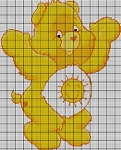 Care Bears Funshine Bear Crochet Pattern